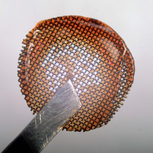 honey / reclaim on the screen of a Boundless CF Vaporizer
