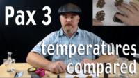 Pax 3 Temperature Comparison - Best Vape Temp for Pax 3