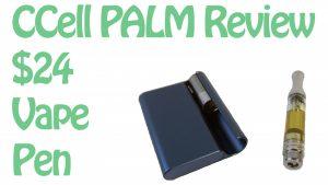 CCell Palm Review - Ultra Slim Vape Pen Battery