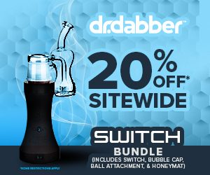 4/20 SALE! 20% Off Dr Dabber SWITCH