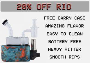 20% off Rio!